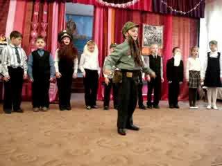 Конкурс военной песни 191 школа