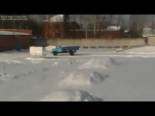 соревнования на тракторах и на автомобилях ПУ № 91 2010 год.