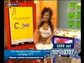 Прикол в прямом эфире на телеканале MTV.