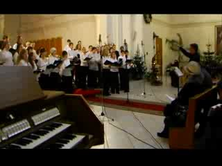 Рождественский концерт РимХор 28.12.09