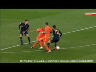 Нидерланды - Испания. Обзор. Финал ЧМ 2010 по футболу.