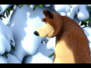 Маша и Медведь Следы невиданных зверей 6 серия