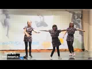 Vogue/waacking от учеников школы танцев