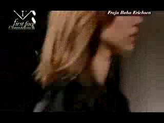 Freja Beha First Face F/W 2010