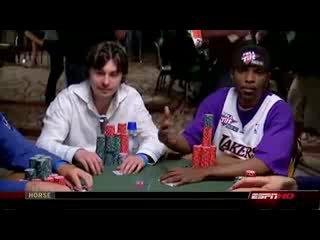 Русский играет в Покер в США и выёбывается)-