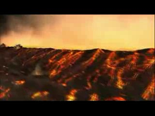 Красивое видео про астероид и землю