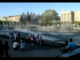 Поющие фонтаны Питера
