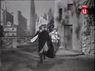 Учитель танцев. Спектакль театра Советской Армии 1952 года.