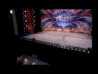 Американская минута славы!!!Бабка поющая под Trance