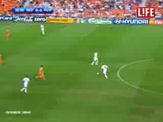 EURO 2008 Россия Голландия 3 1 дагестанский комментатор