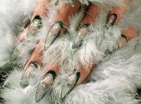 Нарощенные ногти френч фото - фотография Эти прически в галереях.
