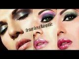Modern Indian Pakistani bridal makeup_ Pink _ Gold