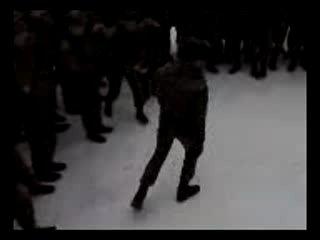 лезгинка в армии учеченцев и ингушей