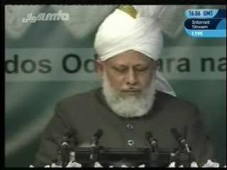 Обращение  Хазрата Мирзы Масрура Ахмада (да поможет ему Аллах могучей помощью), произнесенная 03-го апреля 2010 года в  Испании.