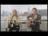 Ellie Goulding acoustic Guns and Horses in GMTV web lounge