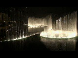 Самый красивый и музыкальный фонтан в мире построен в Арабских Эмиратах