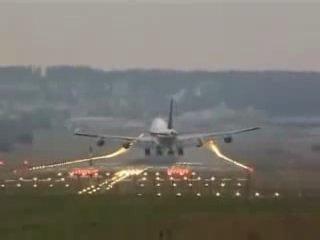 неудачные посадки самолетов(или мастерство пилотов)
