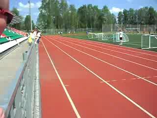 Мой бег на 400 метров