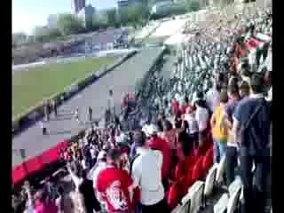 Махач на матче Амкар - Зенит 10.05.2010