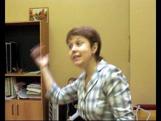 ВИЗИТКА МОЕЙ МАМОЧКИ ДЛЯ КОНКУРСА ПЕДАГОГ ШКОЛЫ 1355 2010 ГОУ СОШ 1355