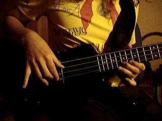 Финская полька на бас-гитаре Колмагорцев едишн