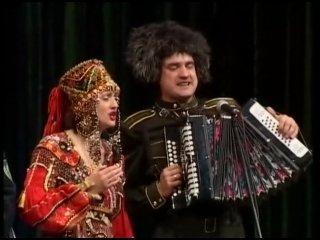 Казачьи песни, Фолк-театр 'Забайкалье' - Не для меня придёт весна, HD (480p).