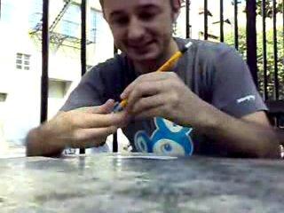 Фокус с карандашом и телефонной камерой