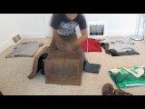 Как правильно складывать вещи в рюкзак:)
