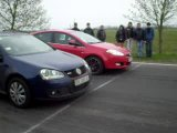 Golf GTI 2.0 (200hp) Vs. Fiat Bravo 1.4 (~170hp)