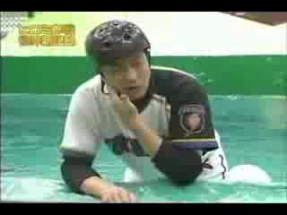 Japanese TV Show Extreme baseball
