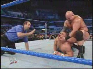 John Cena VS A-Train (WWE SmackDown 08/01/2004)