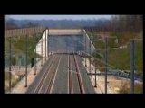 Испытание электро поезда подобному сапсану Смотрите 574 км/ч на рельсах