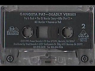 Gangsta pat - mo murder (1995) [memphis, tn] (tape-rip)