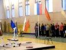 открытие соревнований(г.Рязань 20.12.09)...подъем флага..