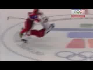XXI Олимпийские игры. Хоккей. Россия - Чехия. Александр Овечкин против Яромира Ягра