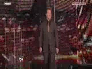 WWE Monday Night RAW - Chris Jericho drafted to Raw [26.04.2010]