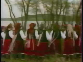 Болгария. Варна. с. Киселево, гагаузский танец