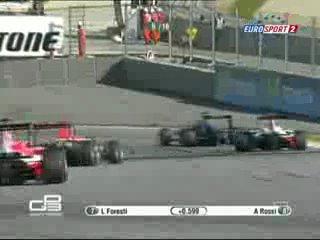 GP3. 1 Гонка 2010. Барселона.