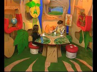 Детская телепередача В гостях у Минутки с участием Дианы.