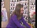 Валяние картины Подсолнухи, шерстяная акварель