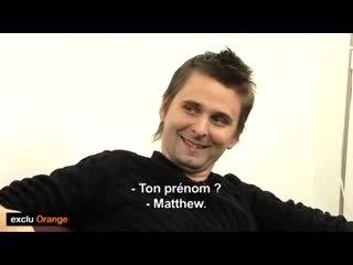 Muse speed date (TV Orange 2010)