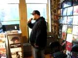 NECRO IN-STORE 5/18/10 FAT BEATS PART 1