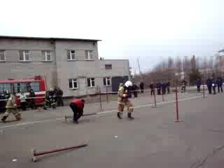между народные соревнования среди пожарных спасателей