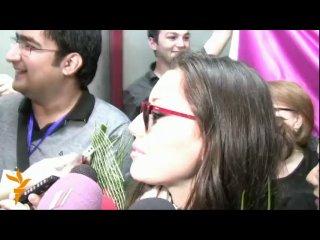 Интервью Сафуры Ализаде в Баку, после евро, НА АЗЕРБАЙДЖАНСКОМ ЯЗЫКЕ!!!!!!!!