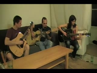 In Flames The Jesters Dance Acoustic Cover By Metacoustiq Metacoustic