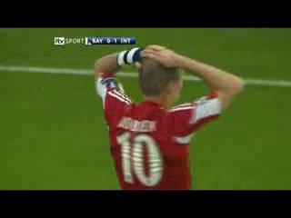 Бавария Мюнхен-Интер Милан 0-2,финал ЛЧ-2009-10