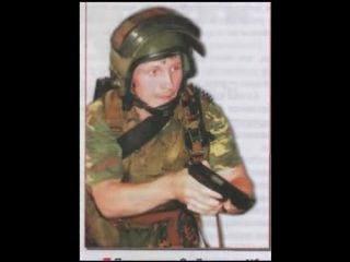 В память 10 бойцов спецназа, погибших в Беслане