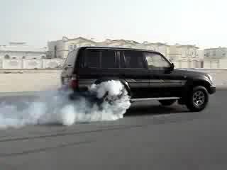 Land Cruiser VXR 1995 19psi boost burnout
