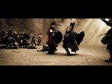 300 спартанцев..самый клёвый момент.отработал красиво)