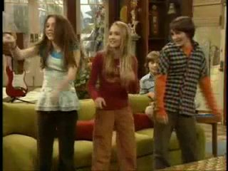 Zac Efron, Vanessa Hudgens and Ashley Tisdale in Hannah Montana